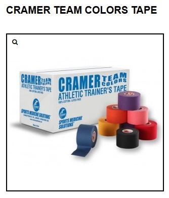 Высококачественный эластичный легкоразрываемый тейп Cramer Eco-Flex Stretch Tape без клеевой основы