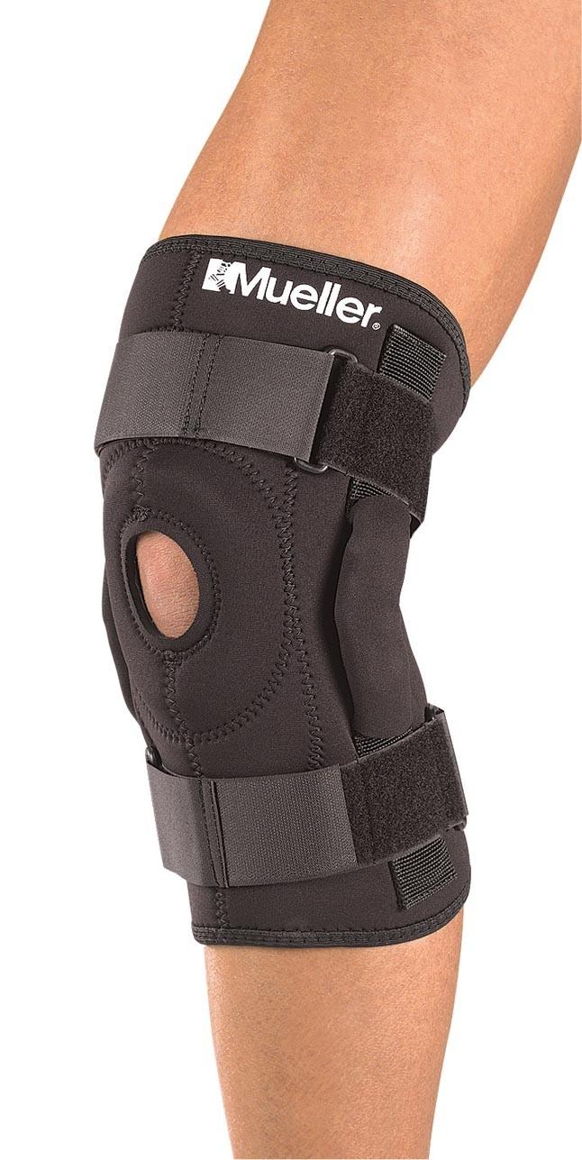 Код 2333 Шарнирный бандаж на колено, 1 шт., черный, SM,MD,LG,XL,XXL
