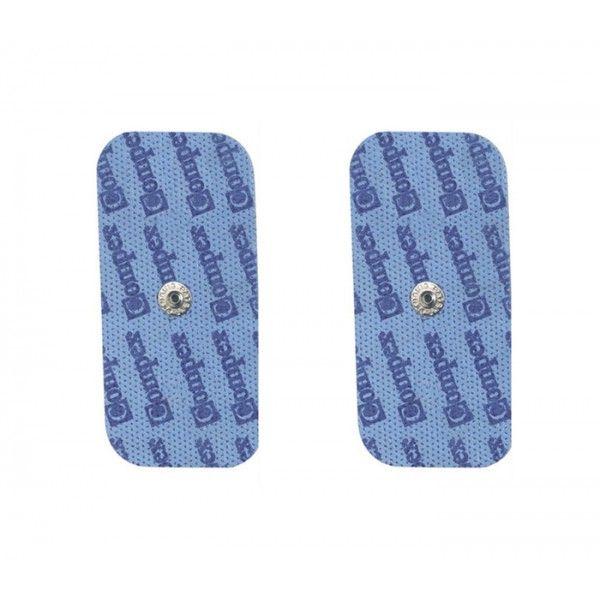 Код 6260771 Электроды с кнопкой, размер 5см х 10см. В упаковке 10 пакетов по 2 электрода в каждом