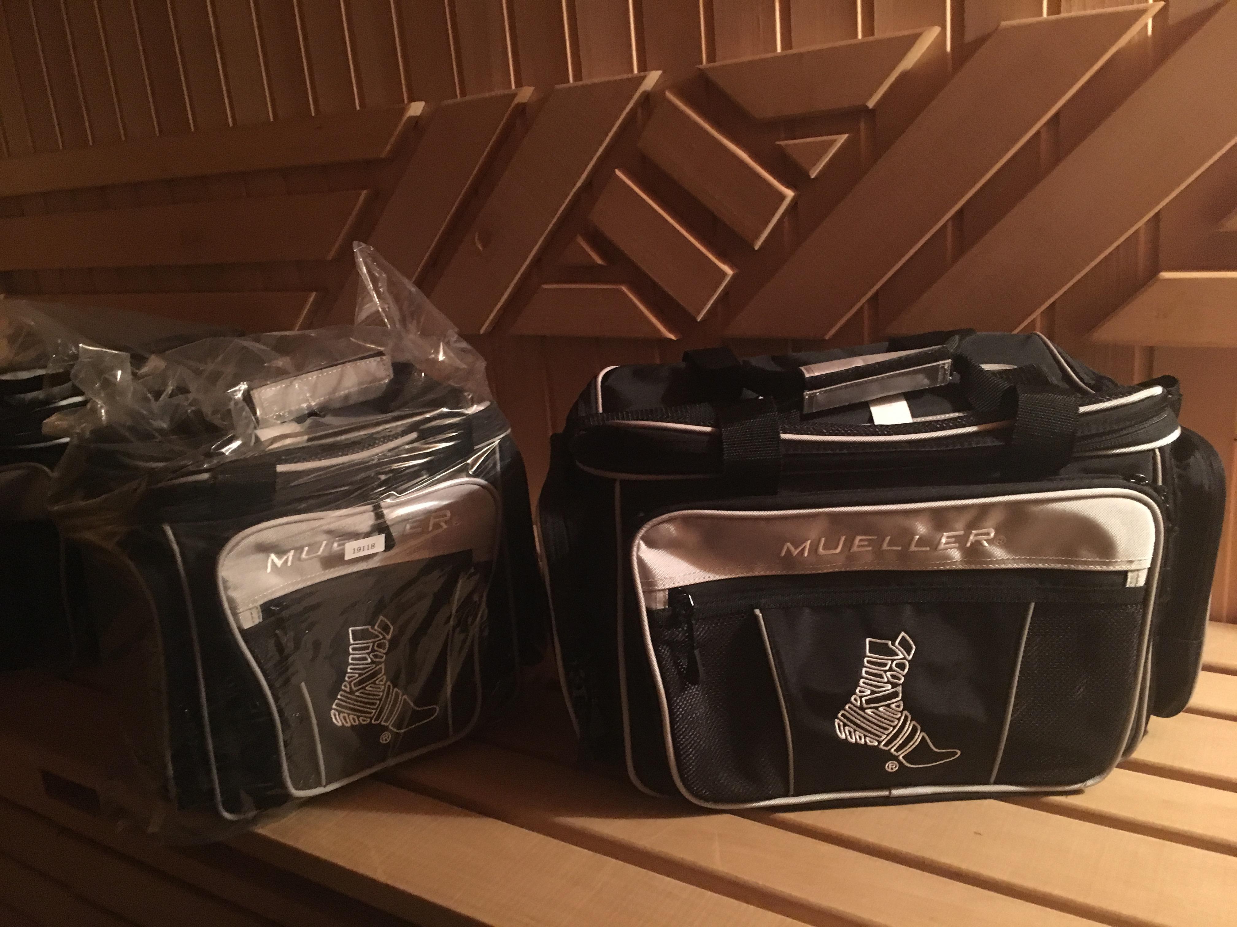 """NEW !!! 19118 MUELLER HERO® Protégé, Прочная, легкая нейлоновая сумка со сменными аксессуарами, премиум ручки, светоотражающие вставки,  25,5х25,5х25,5 см (включая: M2 Clear Poket 10x10"""" )"""