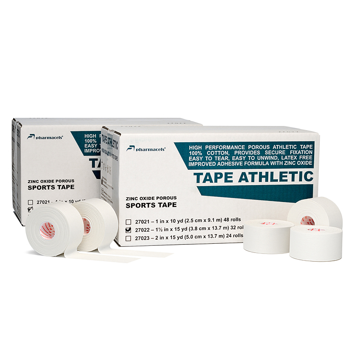 "Код 27023 Тейп ""Pharmacels""атлетический пористый  5,0 см.х13,7 м. 1кор./24 рул."