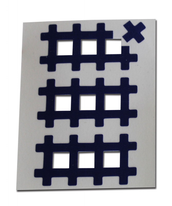 Аку тейпы BB ACU TAPE™ 1 см × 1 см / Синий