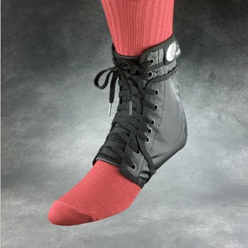 Бандаж на голеностоп Ankle Lok чёрный р. XS-XL