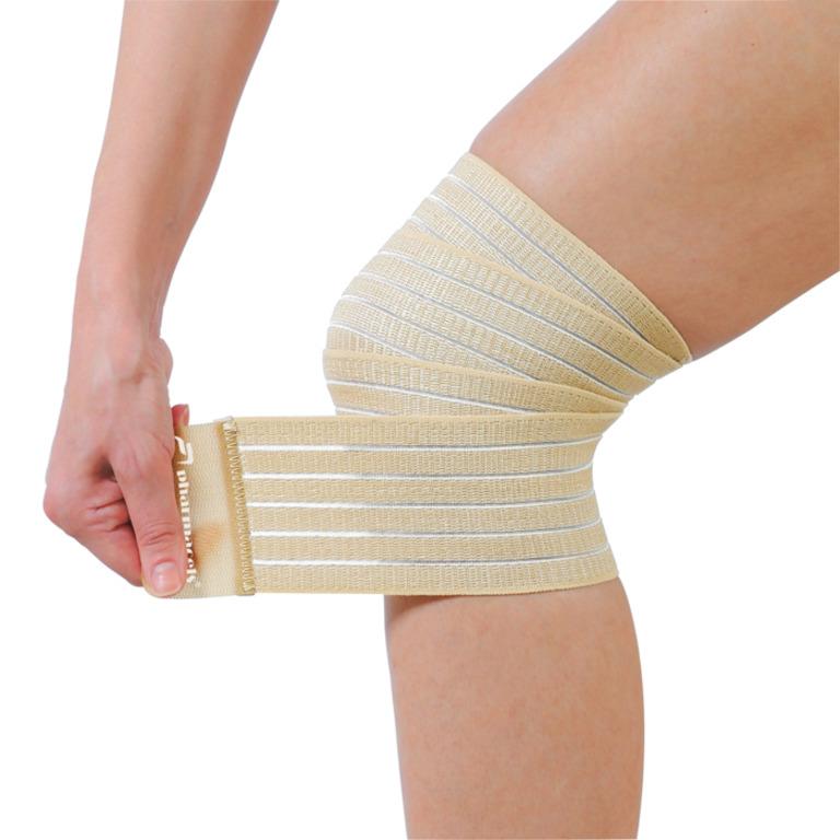 Код 53403 Эластичный бинт на голеностопный сустав Ankle Wrap, Pharmacels (7,5 x 120 см) (Аналог  Mueller 4591)