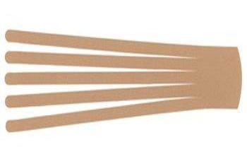 Кинезио тейп преднарезанный BB EDEMA STRIP 10 cм x 25 см / Бежевый