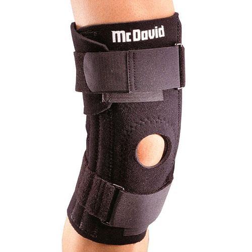 Код 420R Бандаж колена регулируемый, черный