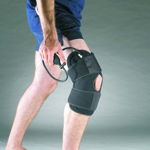 805 Охлаждающий компрессионный бандаж на колено