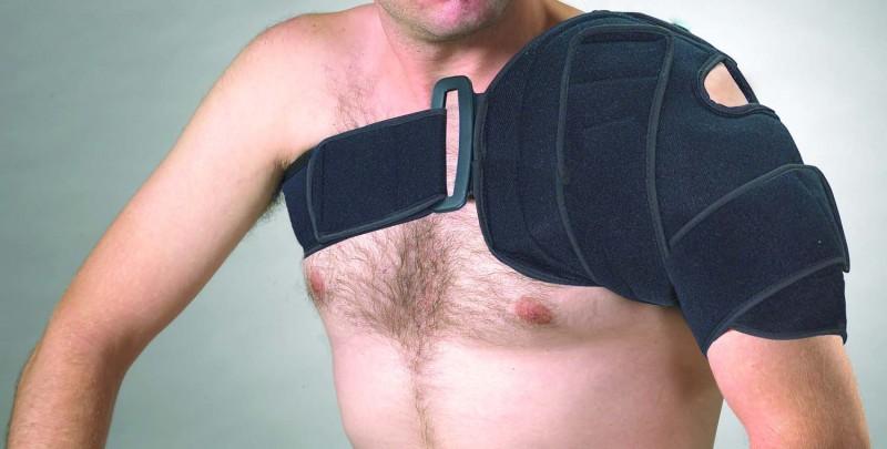 807 Охлаждающий компрессионный бандаж на плечо
