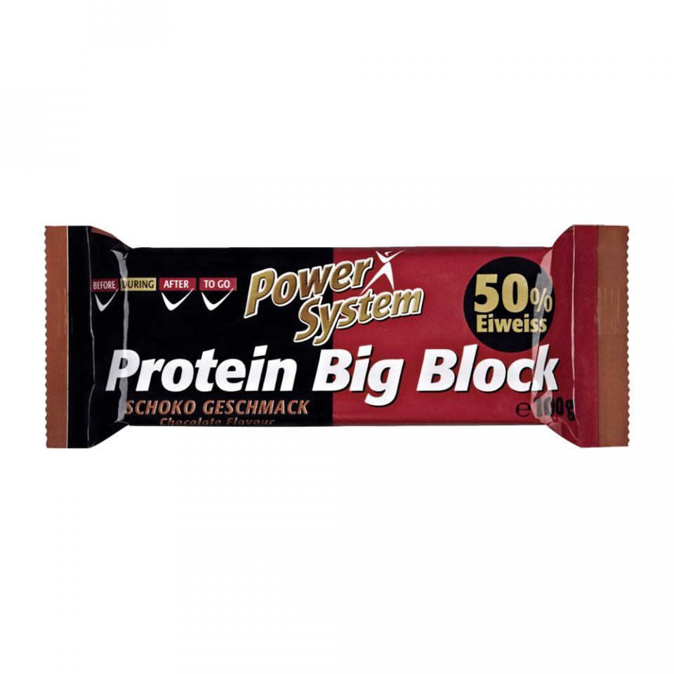 Батончик Power System 100 г Protein Big Bloсk 50%