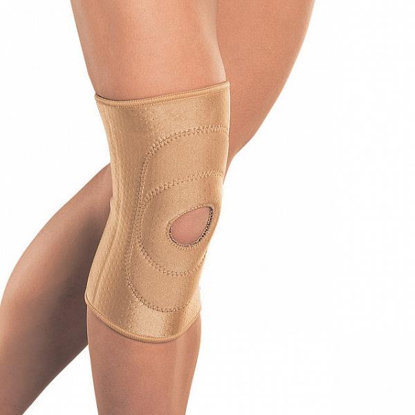 Код RKN-103 Бандаж на колено с фиксир. подушкой, отверст., S,M,L,XL, ХХL