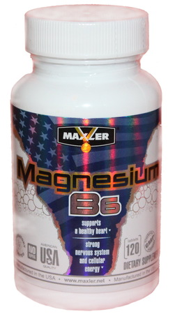 Maxler Magnesium B6 120 таблеток
