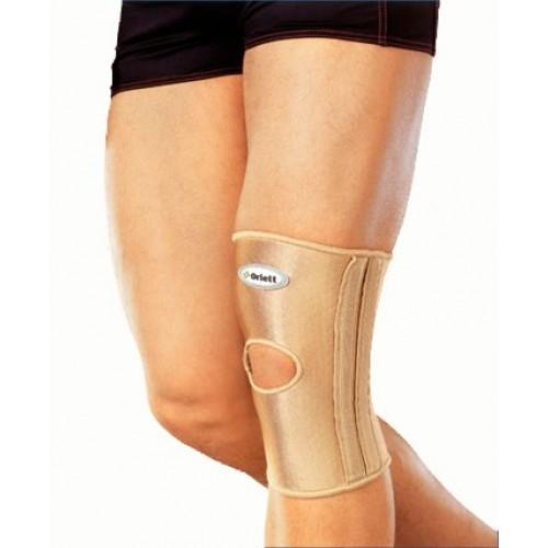 Код RKN-103(M) Бандаж на колено с фиксир. подушкой, отверст. и спирал. ребрами, S,M,L,XL, ХХL