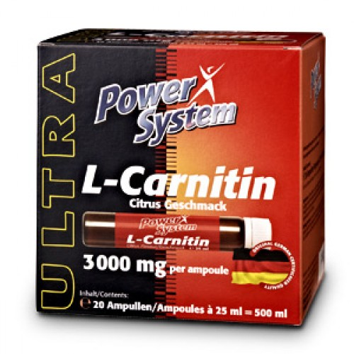 Power System L-carnitin 3000 мг 1