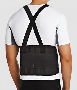 Код IBS-3006 Корсет на спину с ребрами жесткости (4,6,8) и доп.затяжками, S,M,L,XL, ХХL