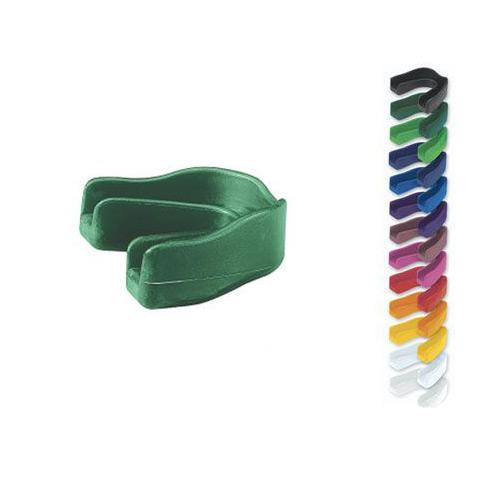 Код 131027 Защитная капа для зубов без ремешка, 1 шт., синяя