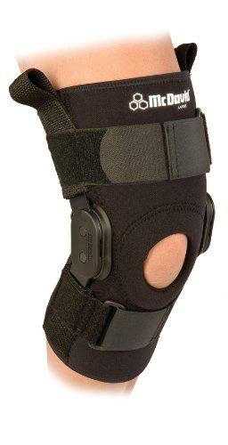 Код 429R Бандаж колена шарнирный стабилизирующий, черный, S,M,L,XL