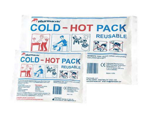 Код 30112 Компрессы холодно/горячие многократного приминения (15x22,5) см.