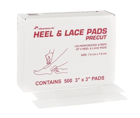 082514 Подкладки для тейпирования HEEL & LACE PADS, 2000 шт.
