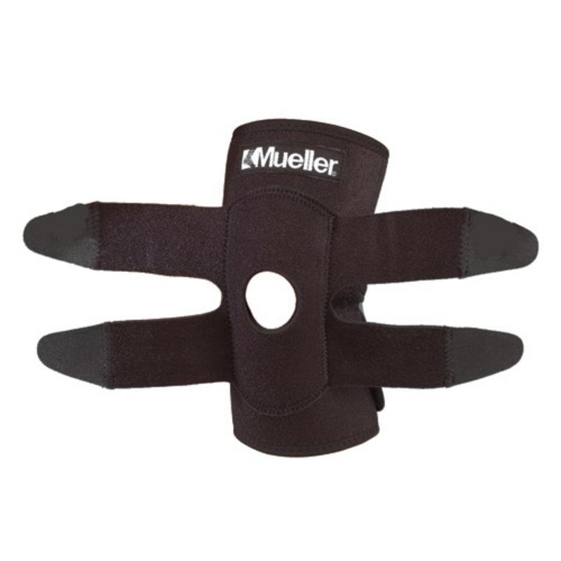 Код 4531 Бандаж-обертывание на колено, 1 шт., черный