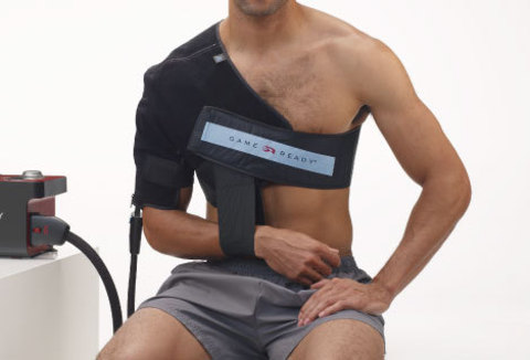 Код 590424 Бандаж насадка Плечо левое M, (обхват груди 84 -115 см)