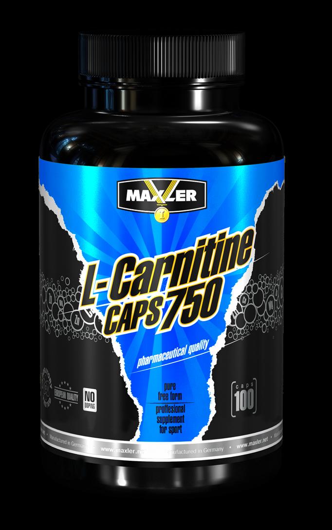 Maxler L-carnitine 750 мг 100 капсул