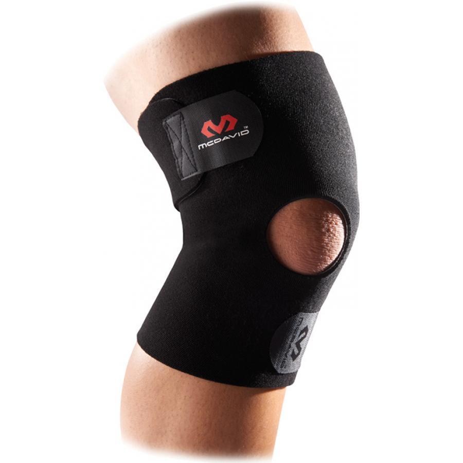 Код 409R Стабилизатор колена с открытой чашечкой, черный, безразмерный