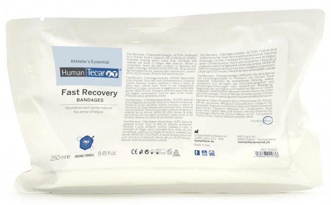 Компрессионные охлаждающие бандажи для релаксации и восстановления после физических нагрузок Fast Recovery bandages HumanTecar (Италия)