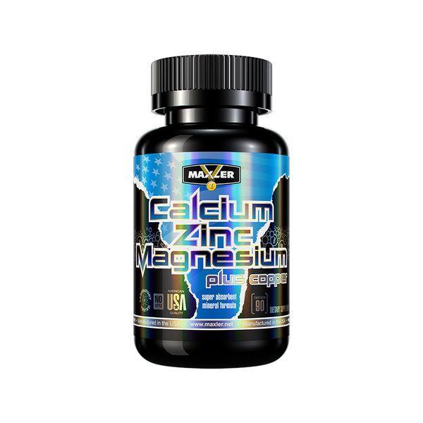 Maxler Calcium Zinc Magnesium 90